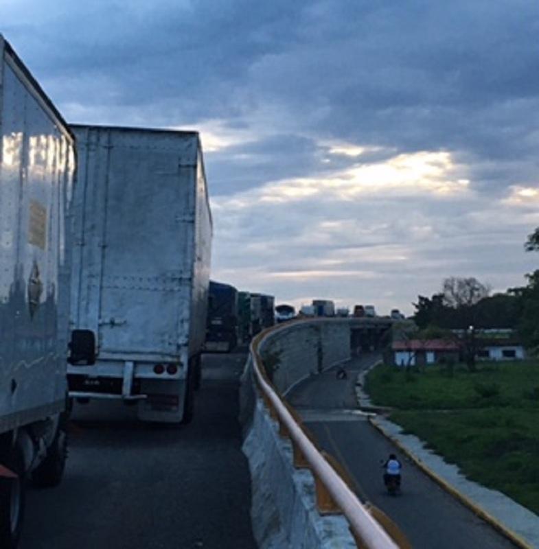 Traffic Blockade in Oaxaca