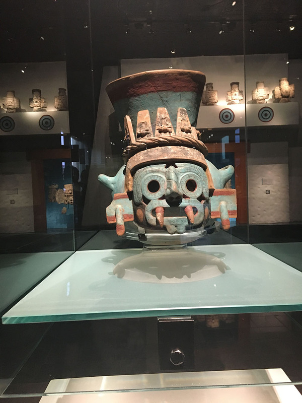 Tlaloc Depicted in Turquoise