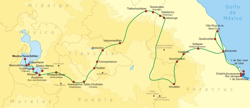 The Path to Tenochtitlan