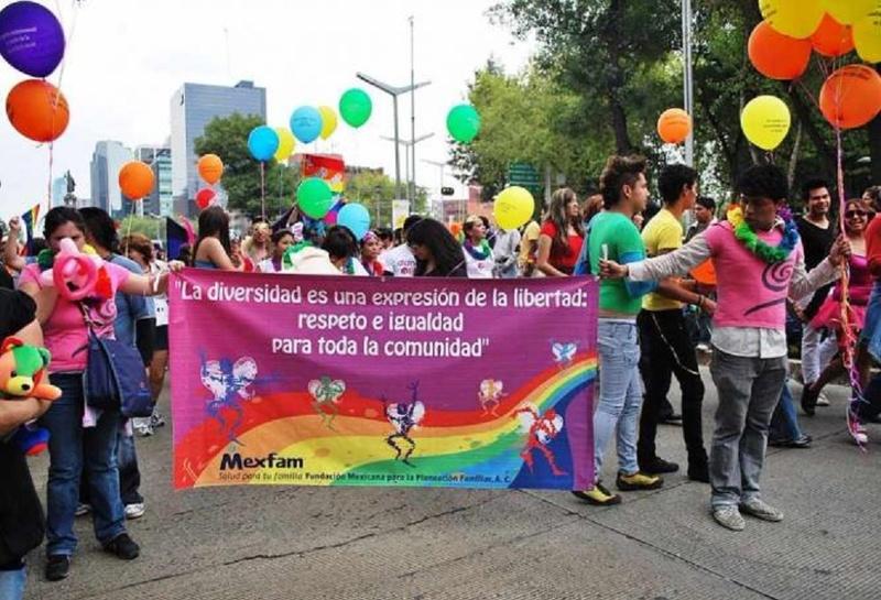 Pride March in Mexico