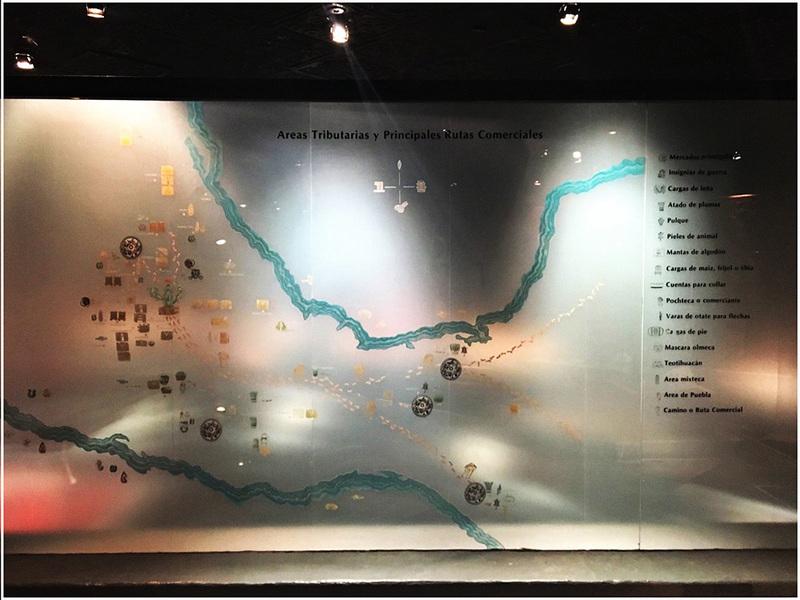 Mexica Trade Map