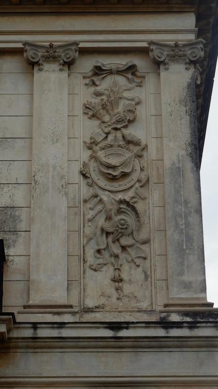 Detail of the sophisticated decorations of the houses