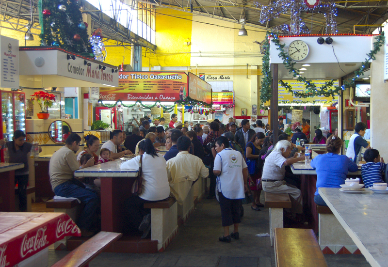 Inside the 20th of November Market