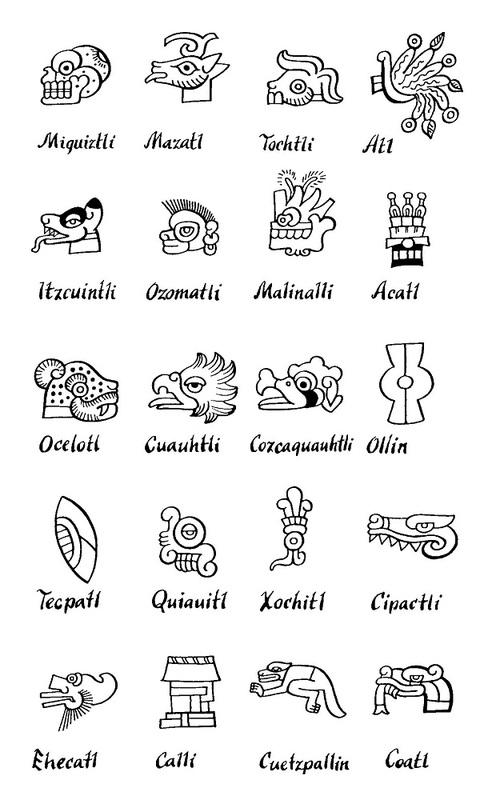 Calendar symbols