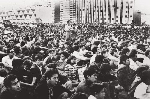 Peaceful Protesting At Tlatelolco