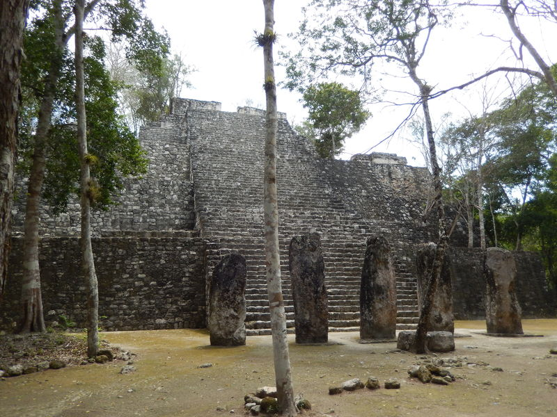 Temple 2 at Calakmul