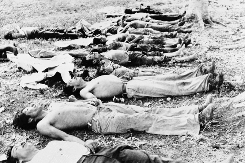 During the genocide, the Guatemalan military targeted entire families, including children,