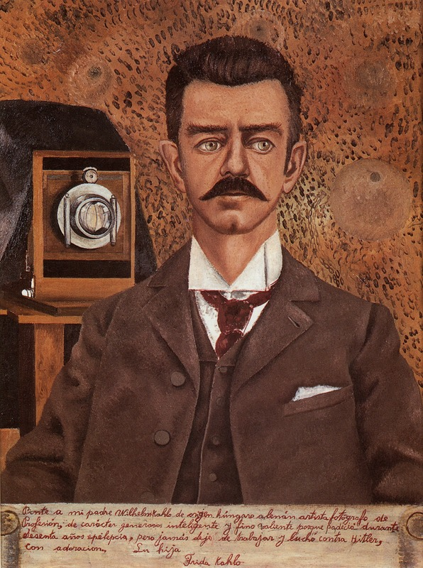 Portrait of My Father Wilhelm Kahlo (1951)