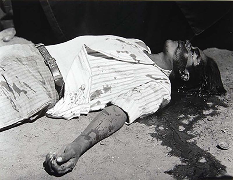 Obrero en Huelga, Asesinado (1934)