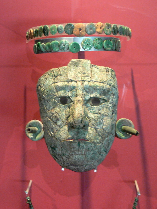 The Red Queen's Funerary Mask
